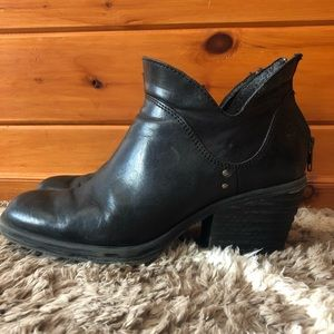 Born cut out ankle boots